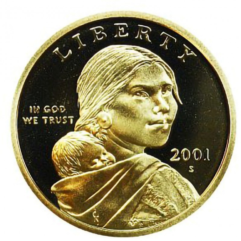 2001-S Sacagawea Dollar Proof