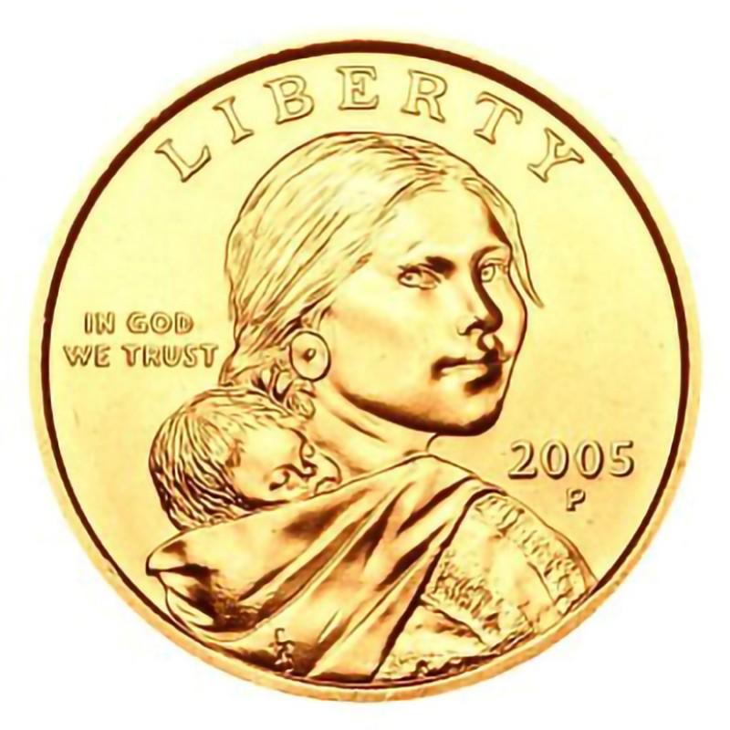 2005-P Sacagawea Dollar