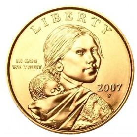 2007-P Sacagawea Dollar