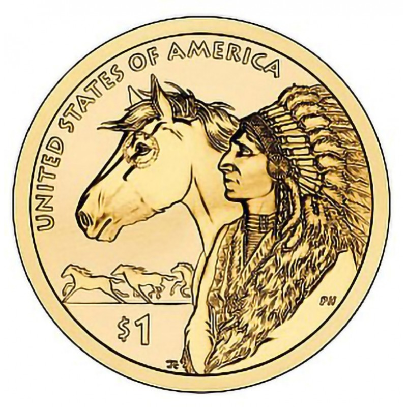 2012-D Sacagawea Dollar
