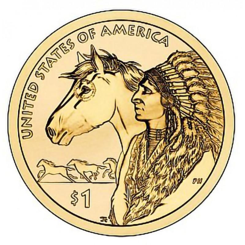2012-P Sacagawea Dollar