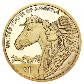 2012-S 17th Century Trade Routes Sacagawea Dollar Proof - Key Date