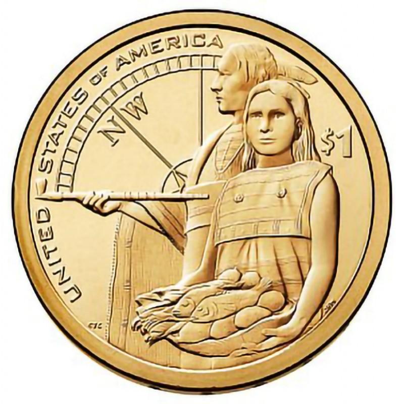 2014-P Sacagawea Dollar