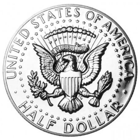 1968-S Kennedy Half Dollar 40% Silver