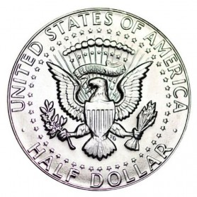 1969-D Kennedy Half Dollar 40% Silver