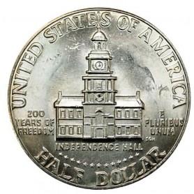 1976-D Bicentennial Kennedy Half Dollar