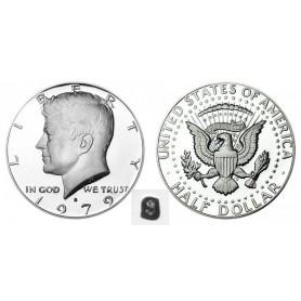 1979-S Kennedy Half Dollar Type 1 Filled