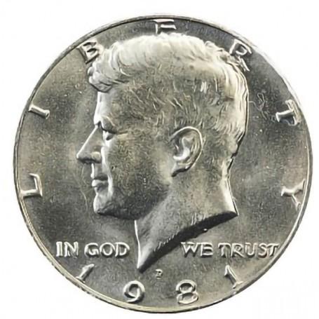 1981-D Kennedy Half Dollar