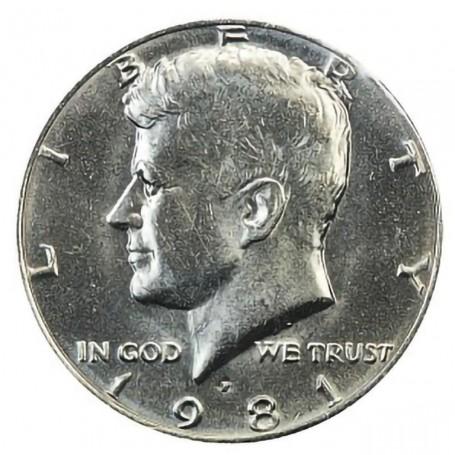 1981-P Kennedy Half Dollar