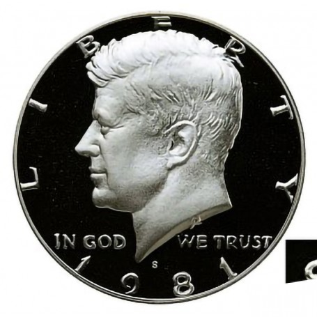 1970 S Proof Kennedy Half Dollar With Capsule 40/% Silver Combined Shipping