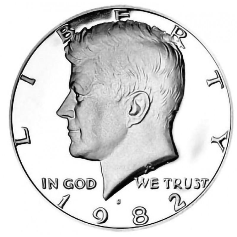 1982-S Kennedy Half Dollar