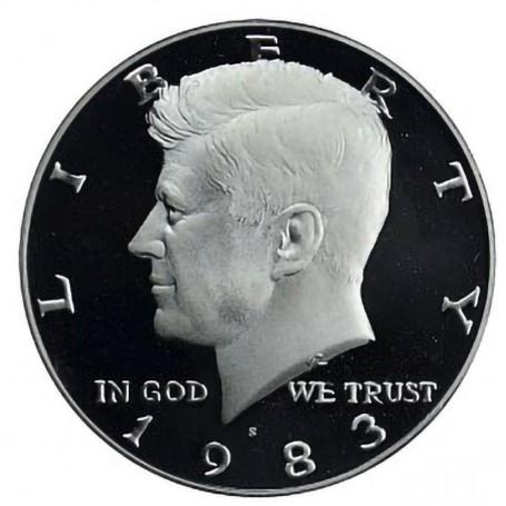 1983-S Kennedy Half Dollar