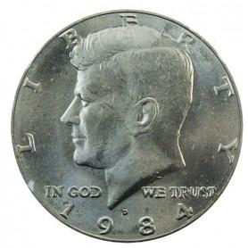 1984-D Kennedy Half Dollar