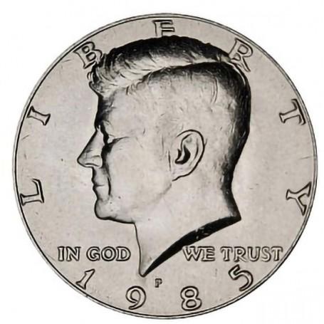 1985-P Kennedy Half Dollar