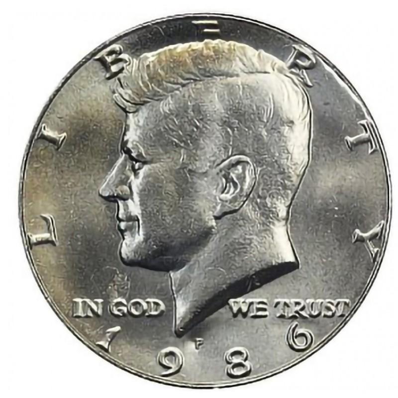 1986-P Kennedy Half Dollar