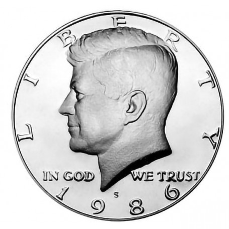 1986-S Kennedy Half Dollar Proof