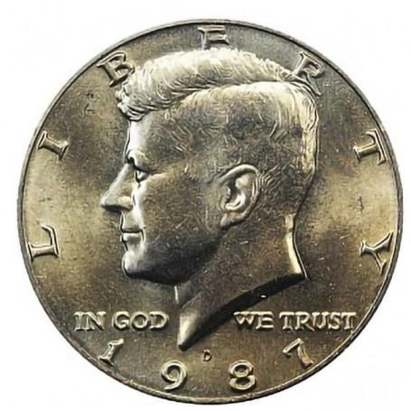 1987-D Kennedy Half Dollar