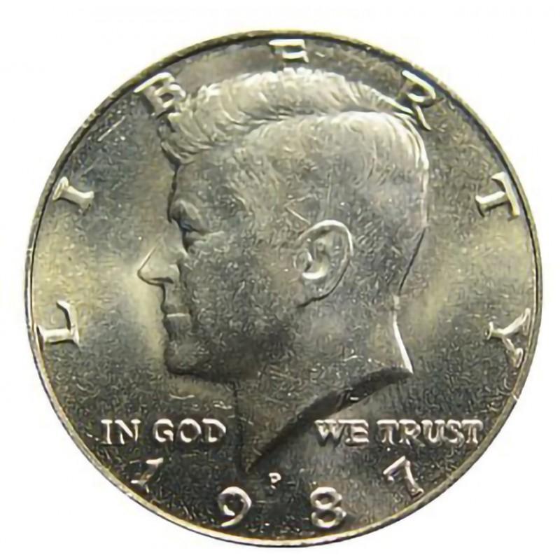 1987-P Kennedy Half Dollar
