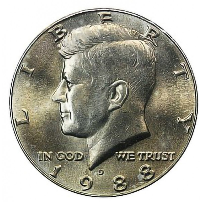 1988-D Kennedy Half Dollar