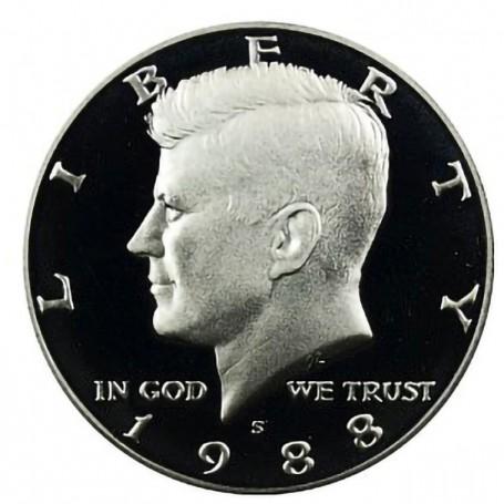 1988-S Kennedy Half Dollar Proof