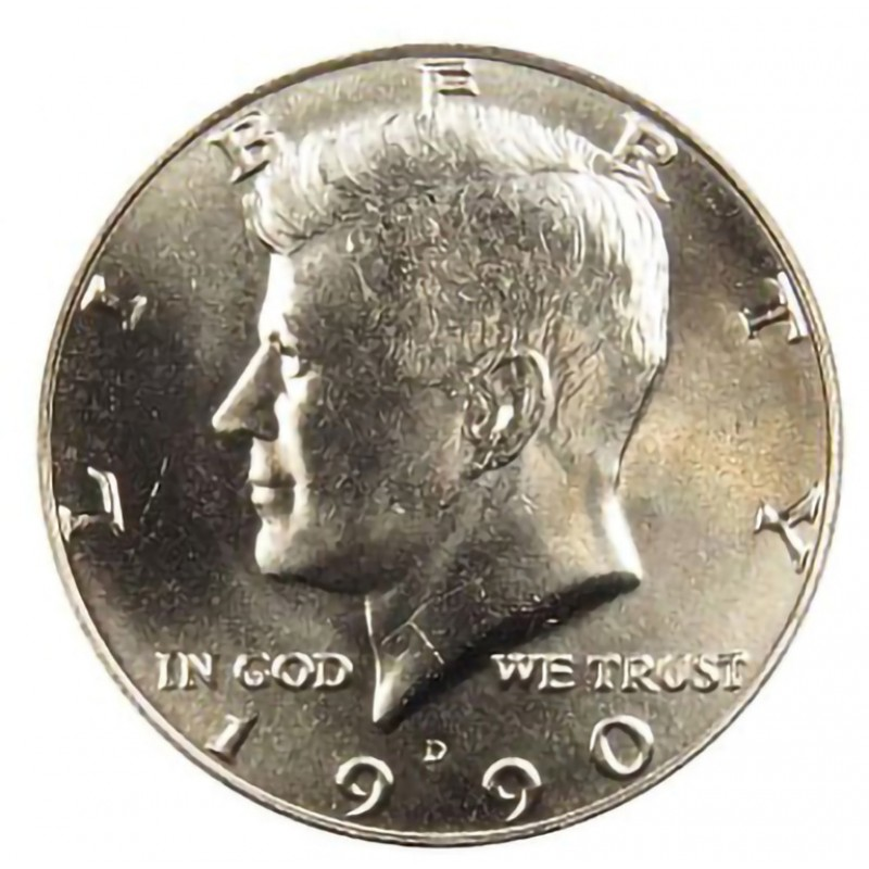 1990D KENNEDY HALF UNCIRCULATED