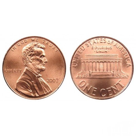2007-P Lincoln Cent