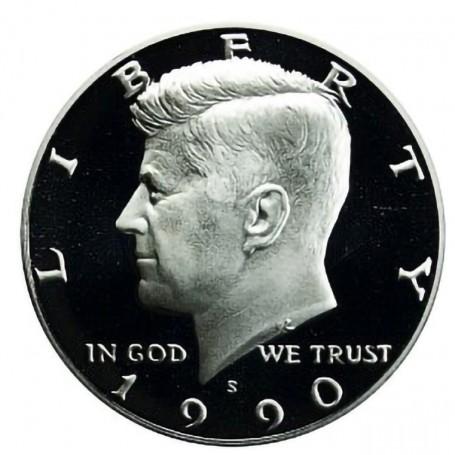 1990-S Kennedy Half Dollar Proof