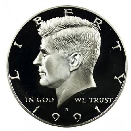 1991-S Kennedy Half Dollar Proof