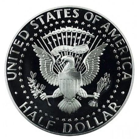 1992-S Kennedy Half Dollar Proof
