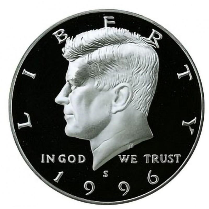 1996-S Kennedy Half Dollar Proof