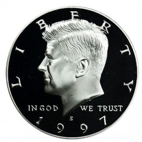 1997-S Kennedy Half Dollar Proof