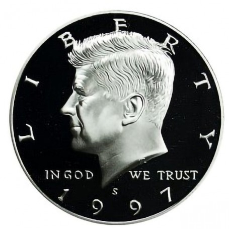 1997-S Kennedy Half Dollar Proof