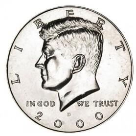 2000-D Kennedy Half Dollar