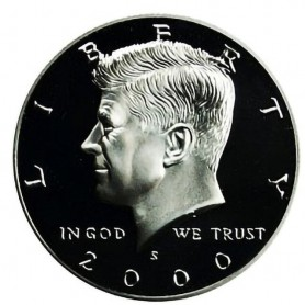 2000-S Kennedy Half Dollar Proof