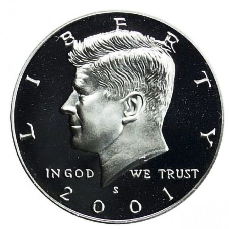 2001-S Kennedy Half Dollar Proof