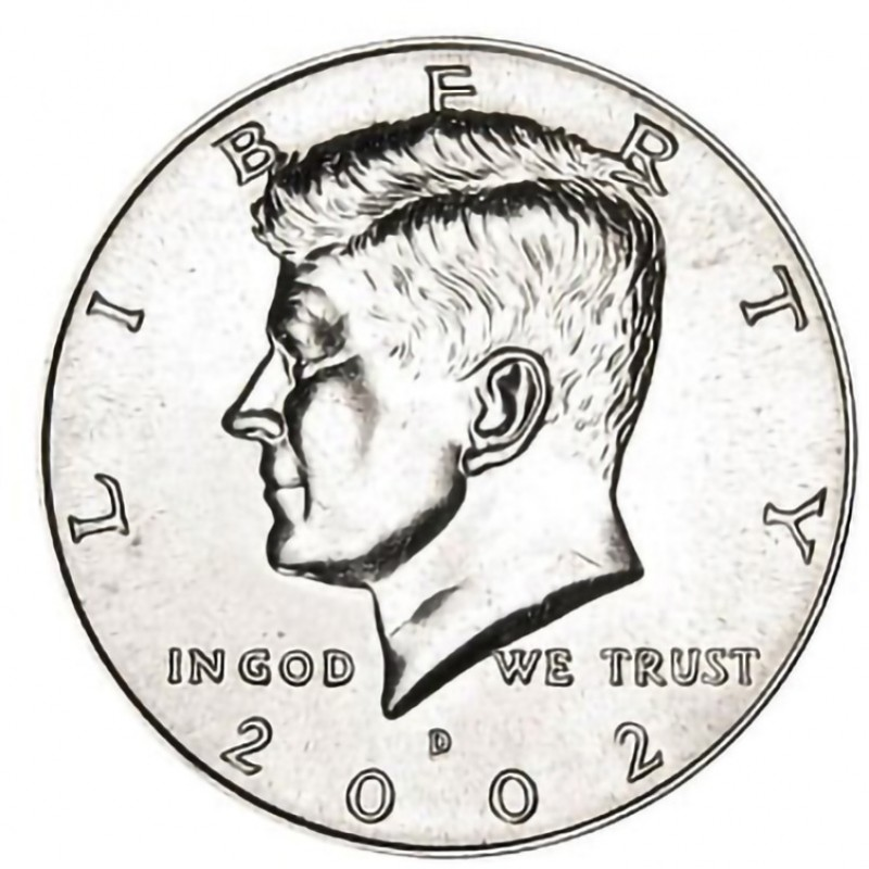 2002-D Kennedy Half Dollar