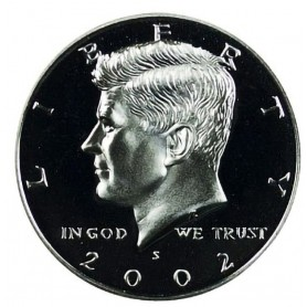 2002-S Kennedy Half Dollar Proof