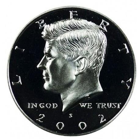 2002-S Kennedy Half Dollar Proof