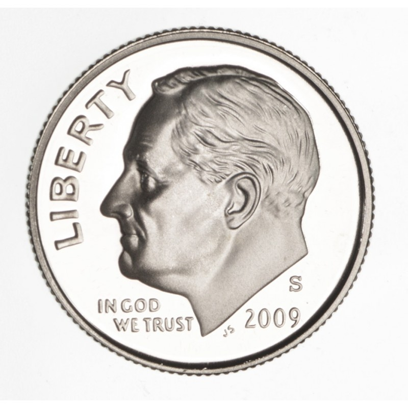 2009-S Silver Proof Roosevelt Dime - 90% Silver
