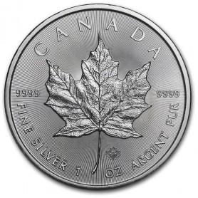 2020 Canadian 1 oz Silver Maple Leaf BU