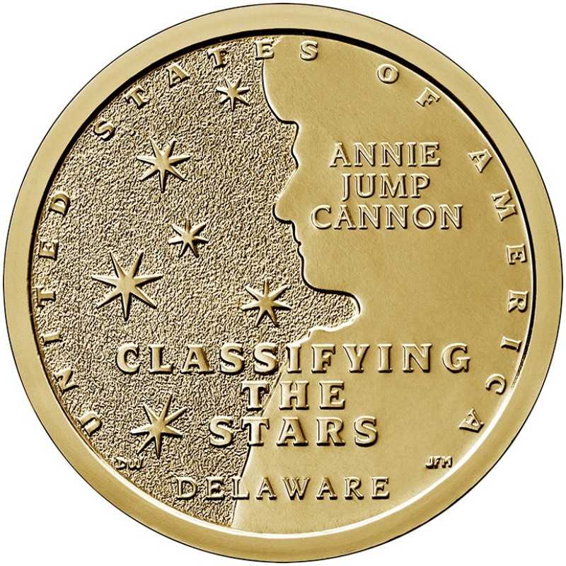 2019-P Delaware American Innovation Dollar