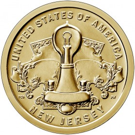 2019-P New Jersey American Innovation Dollar