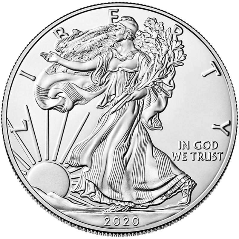 2020-W American Silver Eagle
