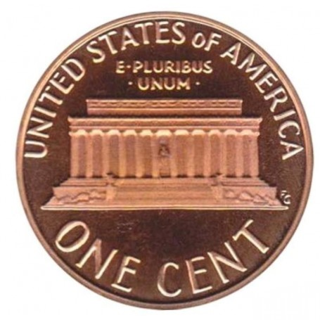 1980-S Proof Lincoln Memorial Cent