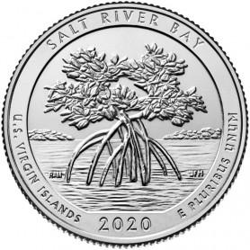 2020-S Salt River Bay National Historic Park Quarter Proof