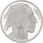 SilverTowne 1oz .999 Buffalo Design Silver Rounds