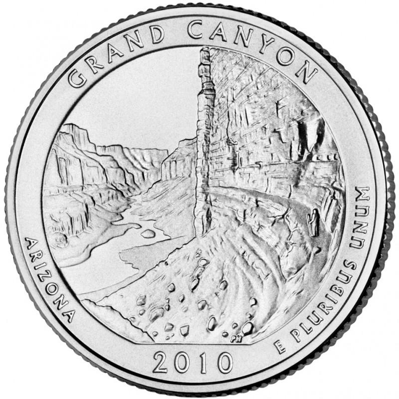 2010-P Grand Canyon National Park Quarter