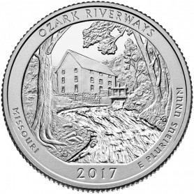 2017-S Ozark National Scenic Riverways Proof Quarter