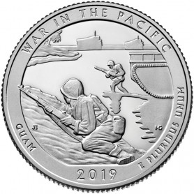 2019-S War in the Pacific National Historical Park Proof Quarter
