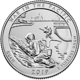 2019-P War in the Pacific National Historical Park Quarter